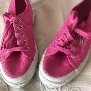 Superga 2750 Cotu Classic Sneakers Pink Sz 7